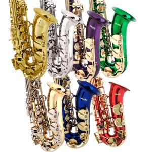 Цветные саксофоны фирмы Мондини