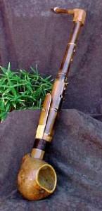 бамбуковый саксофон