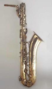 саксофон А.Сакса в музее Парижской консерватории